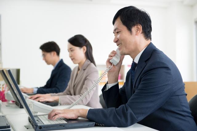 営業活動のイメージ